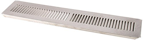 Direct Draw Beer Dispenser (Beverage-Air 28A06-005C Stainless Steel Drip Tray for Beverage-Air DD68 Direct-Draw Beer)