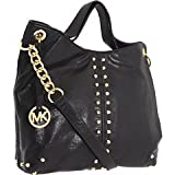 MICHAEL Michael Kors Uptown Astor Large Tote,Black,one size