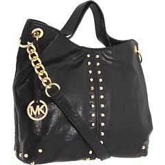 MICHAEL Michael Kors Uptown Astor Large Tote,Black,one size by MICHAEL Michael Kors