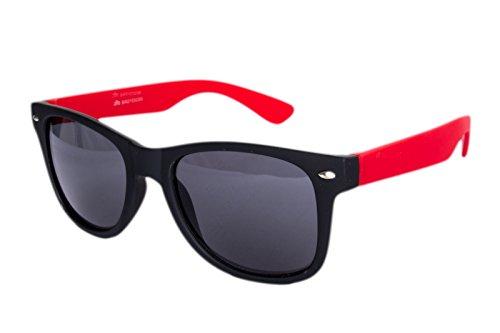 Gafas Matt Rot para sol de mujer Ciffre Schwarz Z07WxdOtn