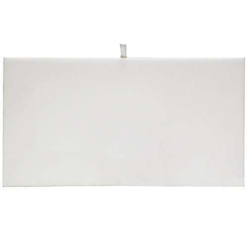 White Tray Inserts Displays - White Velvet Tray Liner