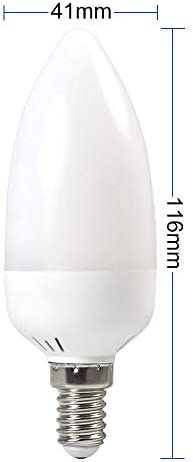 GRANVOO 10-er Pack E14 LED Flammen Lampe 2W LED Leuchtmittel Flammenfarbe 25lm 28X2835 SMD AC 85-265V