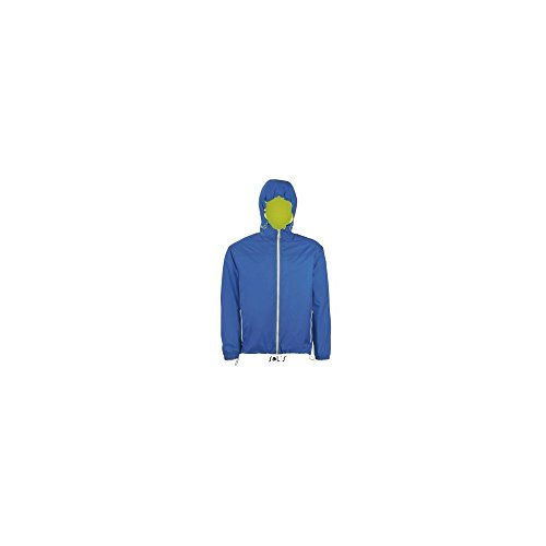 SOL´S Unisex Lined Windbreaker Skate, M, Royal Blue
