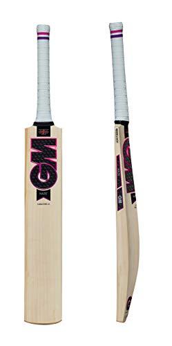 Gunn & Moore GM Haze LITE Signature Premium English Willow Cricket Bat - 2019 Edition, Includes Extra GM bat Grip