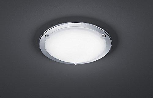 Led deckenleuchte verchromt 10w 800 lumen led deckenlampe für bad