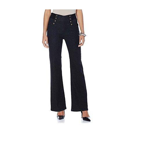Petite Woven Jeans - 9
