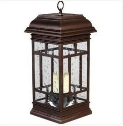 Westinghouse: Solar LED Patio Lantern ~ Recharges In Sun U0026 Shade
