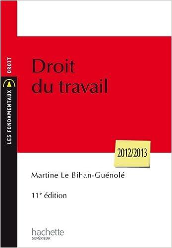 Livres gratuits Droit du travail 2012-2013 pdf