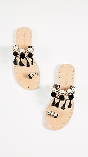 Cocobelle Femmes Kopi Toe Sandales Noires