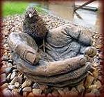 Stonecast Bird Bath / Feeder. Garden...