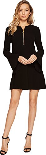 Boho-Chic Vacation & Fall Looks - Standard & Plus Size Styless - Rachel Zoe Women's Jenny Dress Black Dress