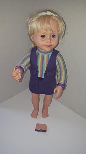 2001 Playmates Amazing Ally Interactive Replacement Doll &Lets Play Tea Party tape