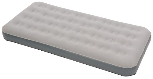 Stansport Twin Deluxe Air Bed, Gray (75- X 38- X 5- Inch), Outdoor Stuffs