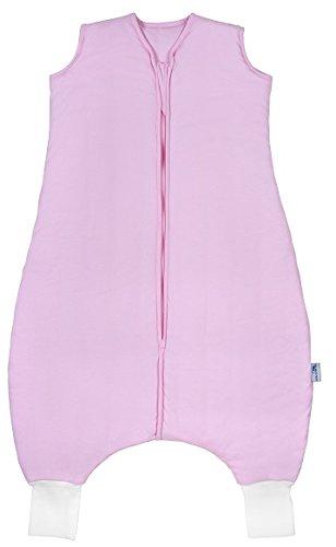 Schlummersack Schlafsack mit Beinen leicht gefüttert für den Sommer in 1.0 Tog - Pink - 18-24 Monate/90 cm