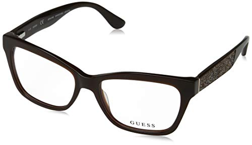 Eyeglasses Guess GU 2622 050 Dark Brown/other/Clear Lens