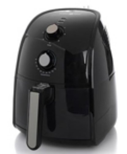 Simply Ming Black Healthy Fry Ceramic Air Fryer