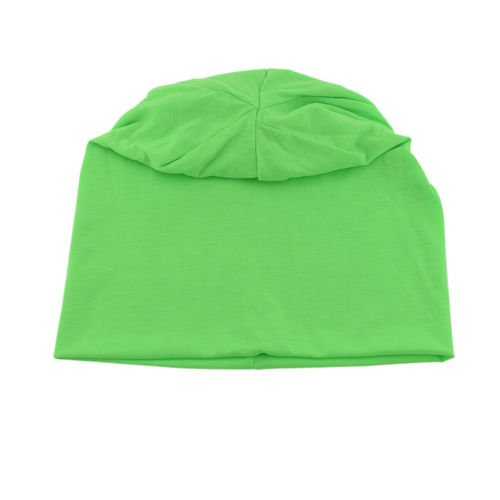 Knit Men's Women's Baggy Beanie Oversize Winter Hat Ski Slouchy Chic Cap Neon Green color (Uggs Short With Bows)