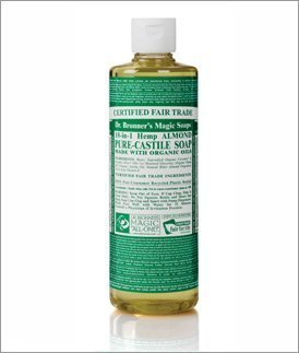 Dr. Bronners Magic Soap Organic Almond Oil Pure Castile Soap Liquid-16 Oz Brand: by Dr. Bronner's