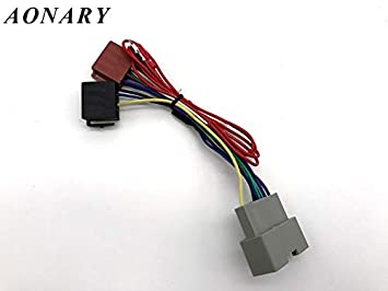 Amazon.com: Car ISO Stereo Adapter Connector for Chrysler ... on jeep radio fuse, jeep cherokee wiring harness, 2005 jeep wiring harness, jeep wrangler wiring harness, jeep sound bar wiring harness, jeep commando wiring harness, jeep stereo harness, jeep commander wiring harness, jeep electrical harness, jeep compass wiring harness, jeep engine harness, jeep patriot wiring harness, jeep liberty wiring harness, jeep tow bar wiring harness, jeep fuse box diagram, jeep wiring diagram, jeep transmission harness, jeep trailer wiring harness, jeep mpg, jeep transmission cooler lines,