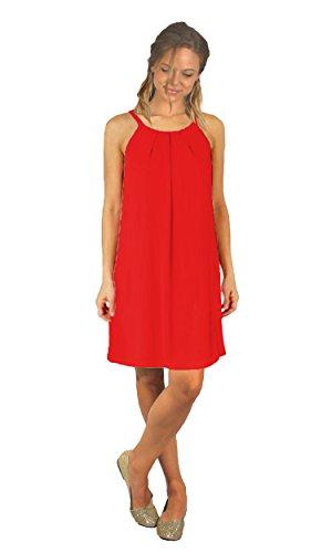 Vestido Rojo Nicoletta