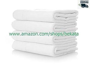 Extra grande Premium – Juego de toallas de baño 100% algodón Toallas para Hotel y