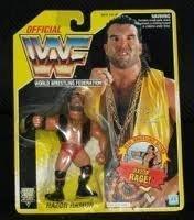 WWF WWE Razor Ramon Scott Hall Hasbro Figure on Yellow Card ()