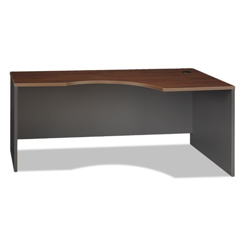 Hansen Cherry/Graphite Gray Bush Series C Right Corner Desk Module, 71w x 35-1/2d - BMC-BSH (Corner Module Series)