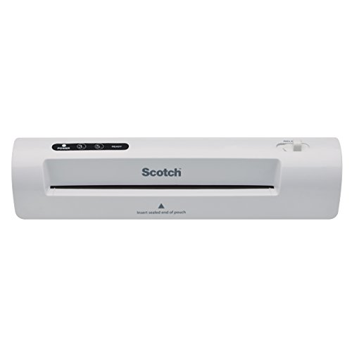 Scotch Thermal Laminator, 2 Roller System for a Professional Finish, Laminate up to 9 Wide (TL901)
