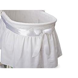 Delta Children\'s Products Sweet Beginnings Bassinet, White
