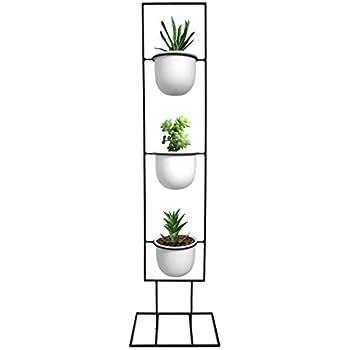 vertical metal plant stand 13 tiers display. Black Bedroom Furniture Sets. Home Design Ideas