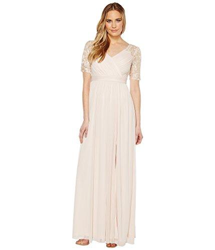 分類自慢階層[アドリアナパペル] Adrianna Papell レディース Stretch Sequin and Tulle Gown ドレス Blush 12 [並行輸入品]