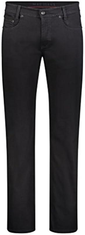 MAC męskie dżinsy Arne 0501 H900 Stay Black czarne: Odzież