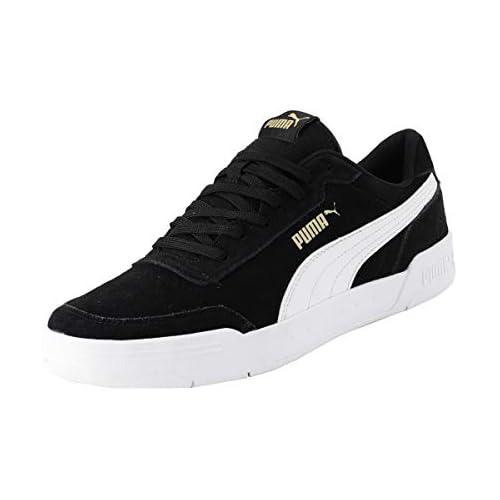 chollos oferta descuentos barato PUMA CARACAL SD Zapatillas para Hombre Negro Black White Team Gold 38 EU