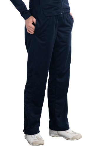 Sport-Tek® Women's Tricot Track Pants - True Navy - X-Large