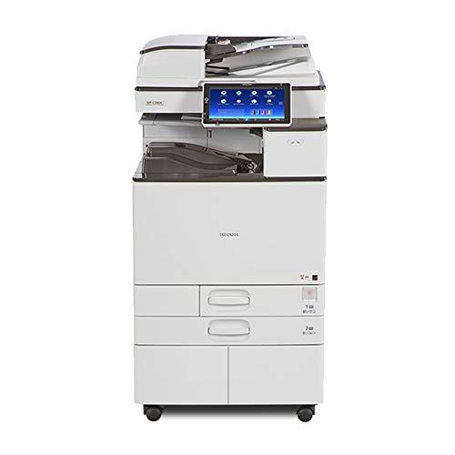 (Ricoh Aficio MP C2504 Tabloid/Ledger-Size Color Laser Multifunction Printer - 25ppm, Print, Copy, Scan, USB Print/Scan, Auto Duplex, Network, 1200 x 1200 DPI, 2GB Memory, 250 GB HDD, 2 Trays, Stand)