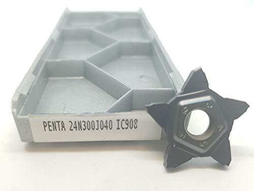 Iscar Hartmetall-Einsätze DGL 2200JS-15D, Klasse IC308, 4 Stück