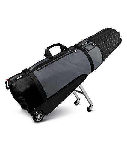 Sun Mountain Golf 2016 CLUBGLIDER MERIDIAN Travel Cover Bag - Black/Gunmetal