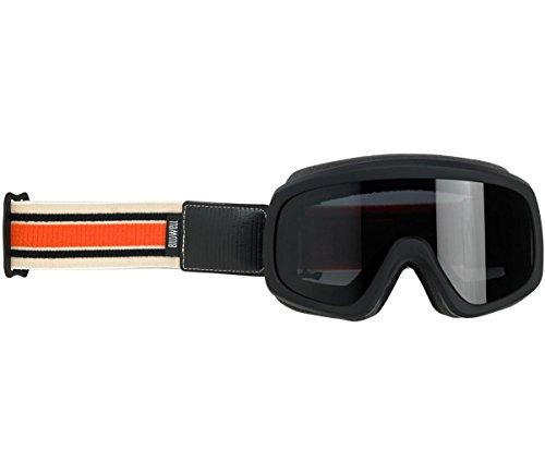 Biltwell Overland 2.0 Racer Goggle - Black C/O ()