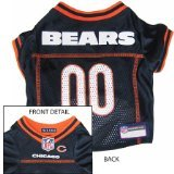 Pets First Official NFL Chicago Bears Jersey Small For Sale