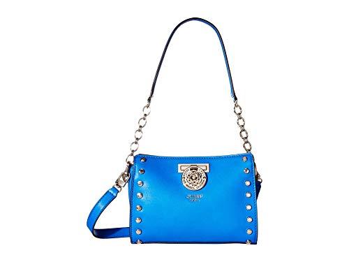 GUESS Women's Marlene Crossbody Top Zip Electric Blue One Size
