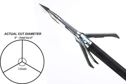 Grim Reaper 100 Grain Pro Whitetail Special Mechanical Broadheads (Best Broadheads For Whitetail)