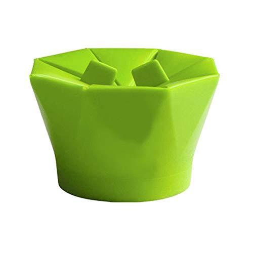 Microondas de silicona Máquina para hacer palomitas Popcorn Popper ...