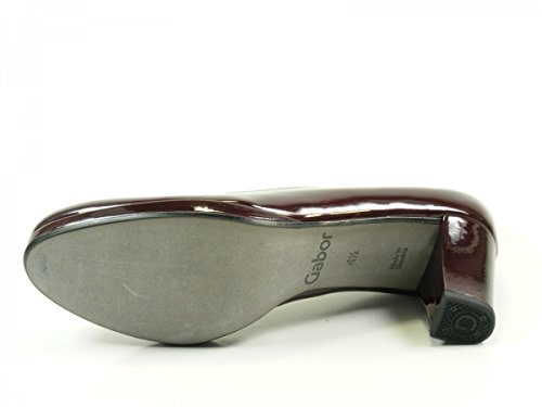 Gabor Shoes Comfort Fashion, Zapatos de Tacón para Mujer Rot