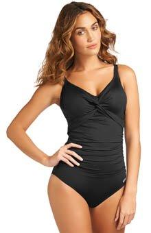 Fantasie Versailles Underwire V-Neck Swimsuit (FS5755) 34DD/Black
