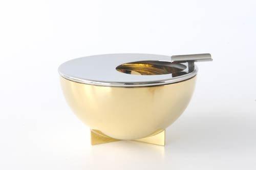 - Bauhaus Ashtray Material: Inox and Brass