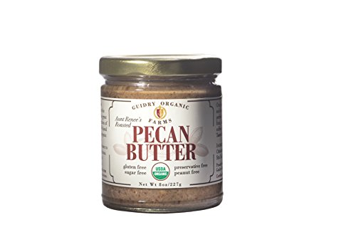 USDA Certified Organic Pecan Butter, Handmade, Small batches, Keto Friendly, Gluten Free, All Natural, made of Organic Pecans, and Sea Salt, no other additives! NO SUGAR ADDED