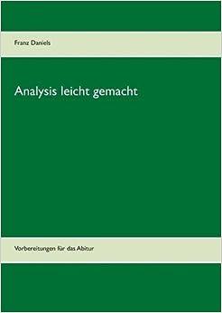Book Analysis Leicht Gemacht (German Edition)