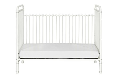 Million Dollar Baby Classic Abigail 3-in-1 Convertible Iron Crib,  Washed White by Million Dollar Baby Classic (Image #10)