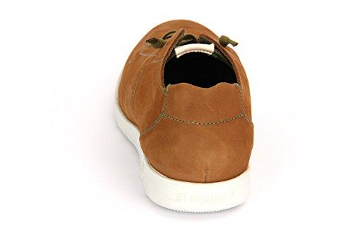 Sneaker Slowwalk Cognac Nubuk Herren Perforiert Morvi Freizeitschuhe xEAqC8Zw