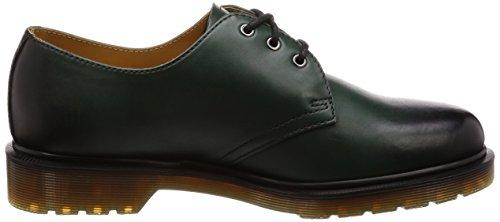 Scarpe Temperley 1461 Leather Antique Unisex Green Dr Martens Y18wzq1f